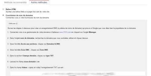 google-verification-site-fournisseur-acces-dns